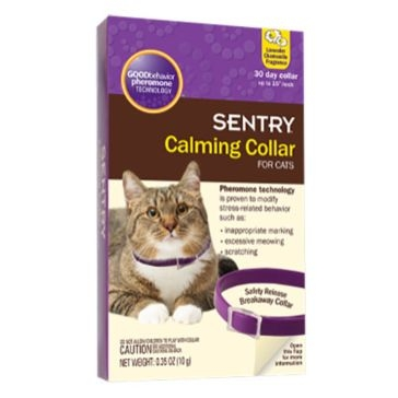 Sentry Calming Collar For Cats .35oz /1ct