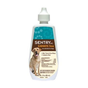 Sentry Earmite Free Ear Miticide for Dogs 3oz