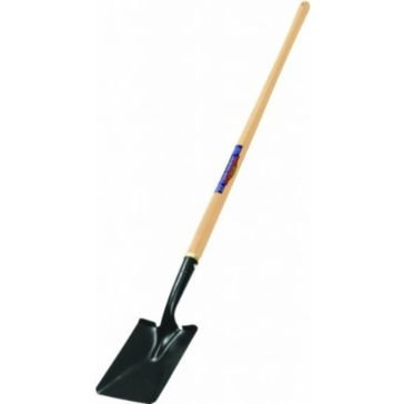 Truper Tru Tough Classic Long Handle Square Point Shovel