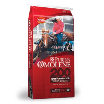 Purina Omolene 200 Performance Horse Feed 50lb
