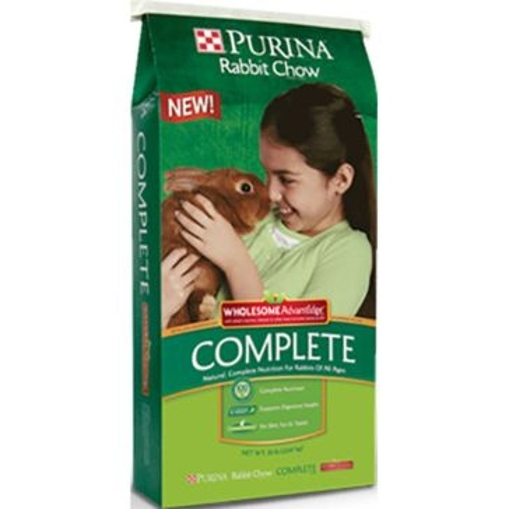 Purina Rabbit Chow Complete Wholesome AdvantEdge 50lb