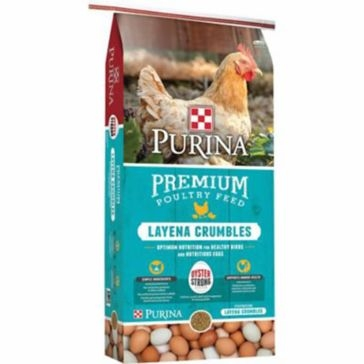 Purina Layena Crumbles Poultry Feed 50lb