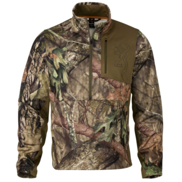 Browning 3/4 Zip Quick Change Mossy Oak Break-Up Country