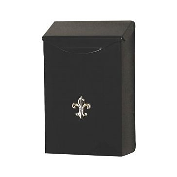 Solar Group Small Black Mailbox LBW110B04