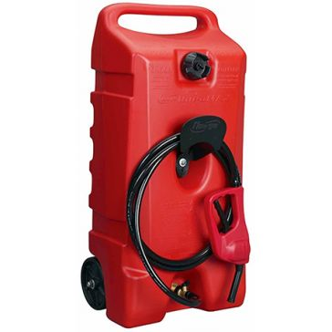 Flo N Go DuraMax 14gal Wheeled Fuel Container w/Nozzle