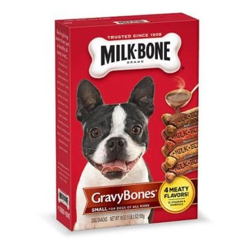 Milk-Bone Small/Medium Dog Gravy Bones - 19oz