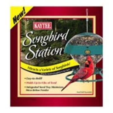 Kaytee Songbird Station w/Wild Bird Feeder