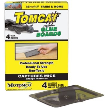 Tomcat 4 Pack Mouse Glue Boards 32420