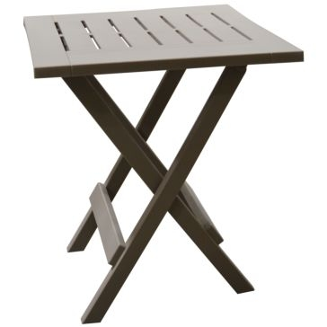 Gracious Living Folding Side Table Sandstone
