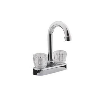ToolBasix Non-Metallic Lavatory Faucet With Round Handles