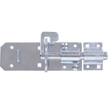 "Hillman 6"" Zinc Plated Extra Heavy Duty Padlock Bolt Latch"