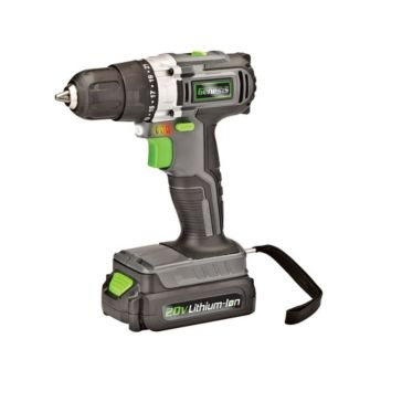 Genesis 20V Lithium-Ion Drill and Driver GLCD2038A