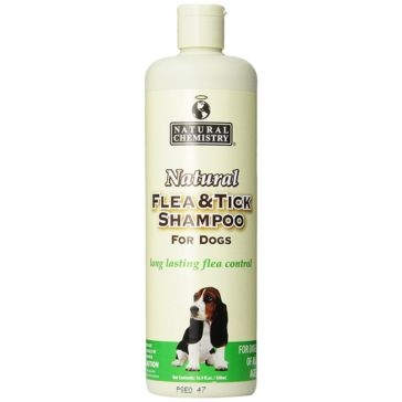 Natural Chemistry Natural Flea & Tick Shampoo for Dogs 16.9oz