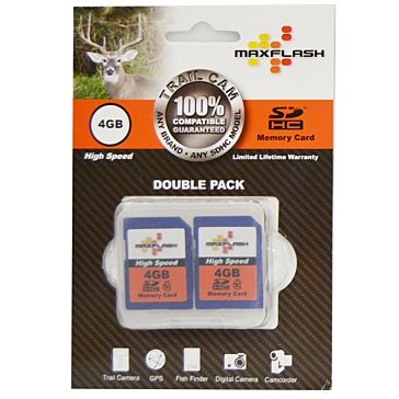 Maxflash 4GB 2-Pack SD Memory Cards