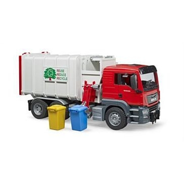 Bruder Toys MAN TGA Side Load Garbage Truck