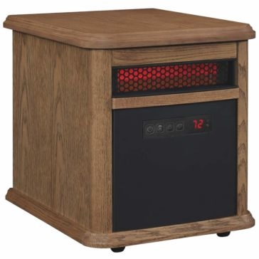 Duraflame Oak Infrared Quartz Electric Heater