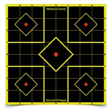 Birchwood Casey Shoot-N-C Sight-In Target 8x8in 34105