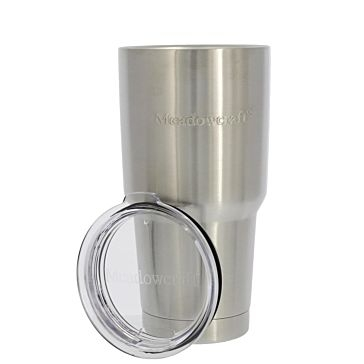 Meadowcraft Stainless Steel 30oz Tumbler with Lid