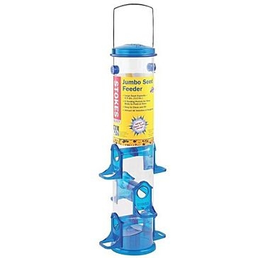Stokes Select Jumbo Seed Tube Bird Feeder 2.5qt 38030