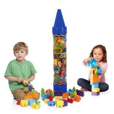 "Crayola 36"" Giant Crayon w/ Building Blocks 99080 Asst."