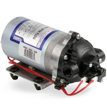 Shurflo 1.8GPM Open Flow Motor Pump 8000-543-236