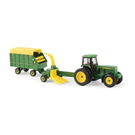 Ertl 1:64 John Deere 4960 Tractor w/ Forage Harvester & Wagon