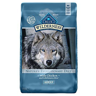 Blue Buffalo Wilderness Chicken Adult Dry Dog Food, 11 lbs