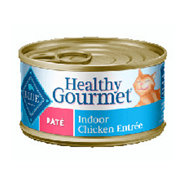 Blue Buffalo Healthy Gourmet Indoor Chicken Entrée For Adult Cats