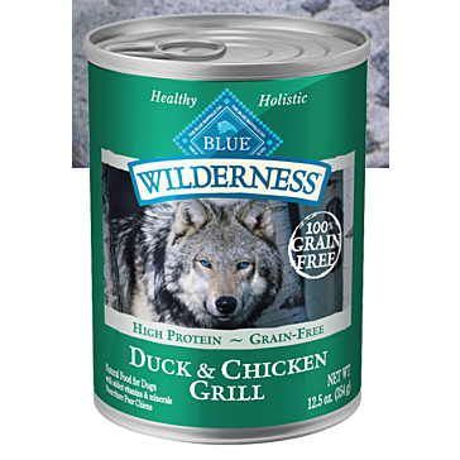 Blue Buffalo Wilderness Duck & Chicken Canned Dog Food