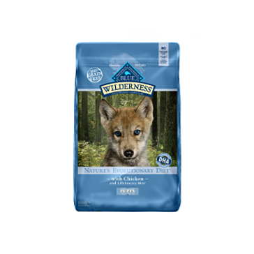 Blue Buffalo Wilderness Chicken Dry Puppy Food, 4.5 lbs
