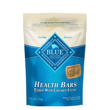 BLUE Health Bars Baked with Chicken Liver Natural Biscuits for Dogs 16oz