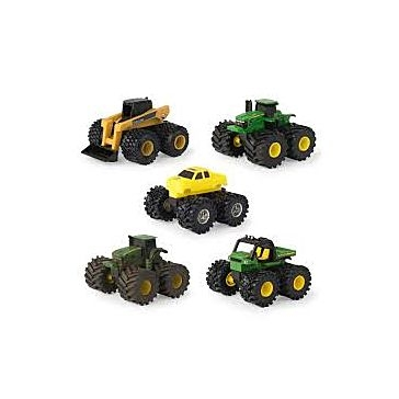 Ertl John Deere Monster Treads Mini Vehicle PDQ Asst.