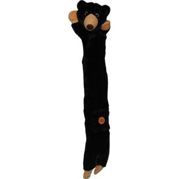 Outback Jack Plush Dog Toy Aussie Floppie Black Bear