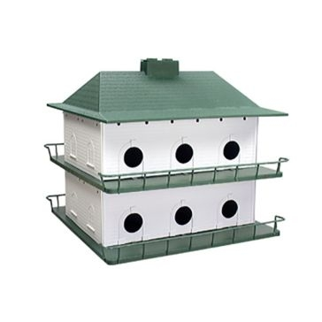 Heath Outdoor 12-Room Purple Martin Birdhouse