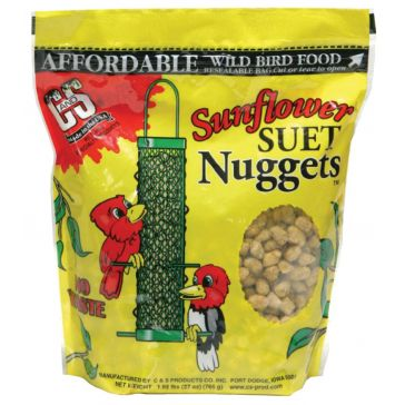 C&S Products Suet Nuggets - Sunflower 27oz