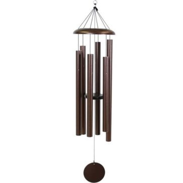 """Corinthian Bells 53"""" Copper Vein Wind Chime - Scale Of G"""