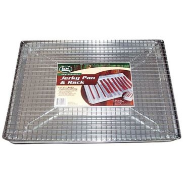 "LEM 18"" x 13"" Jerky Pan and Rack 407"