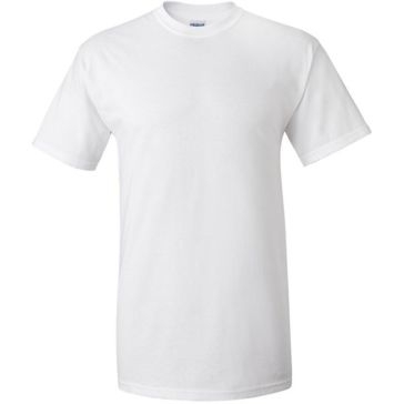 Gildan Men's White Crew Neck S/S T-Shirt Multi-Pack