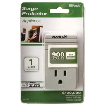 Coleman Cable Surge Protector 1 Outlet 041000