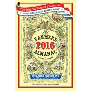 The Old Farmer's Almanac 2016 Softback Book