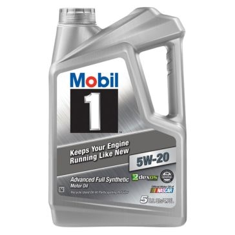 Mobil 1 5W-20 Advanced Full Synthetic Motor Oil 5 Qt
