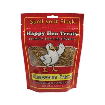 Happy Hen Mealworm Frenzy Chicken Treats 3.5oz