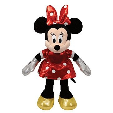 ty 8in Red Minnie Disney 41059