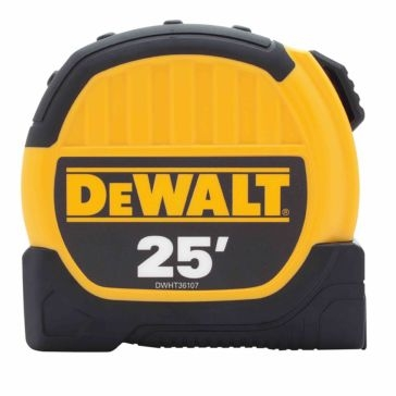 Dewalt 25' Tape Measure 36107