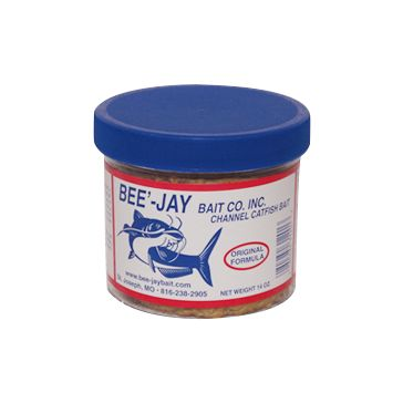 Bee'-Jay Bait Co Catfish Dough Bait Original Formula 14oz