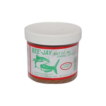 Bee'-Jay Bait Co Catfish Dough Bait Garlic Formula 14oz