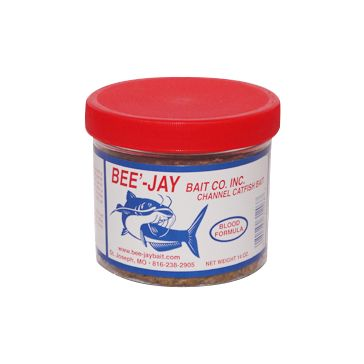 Bee'-Jay Bait Co Catfish Dough Bait Blood Formula 14oz