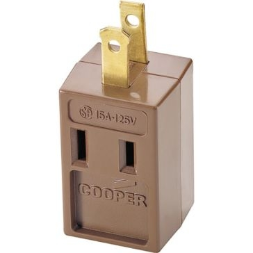 Cooper Brown 3 Out 2 Wire Tap 4400B-BOX