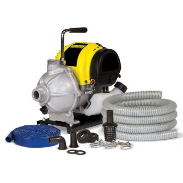 Champion 1in Water Transfer Pump w/ Hose Kit 100166