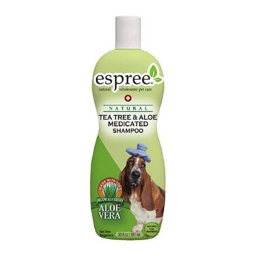 Espree Natural Tea Tree & Aloe Medicated Shampoo 20oz